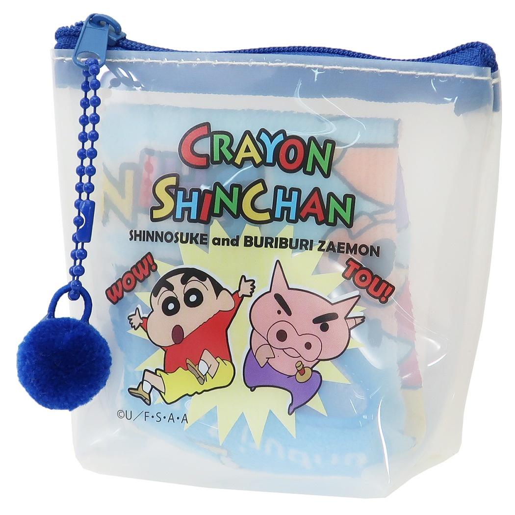 小方巾 蠟筆小新 小白 攜帶方便 袋子 正版授權日本進口