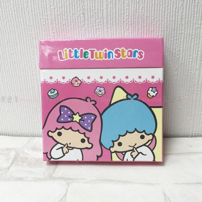 便條紙 超量便利貼 盒裝 三麗鷗 雙子星 正版授權