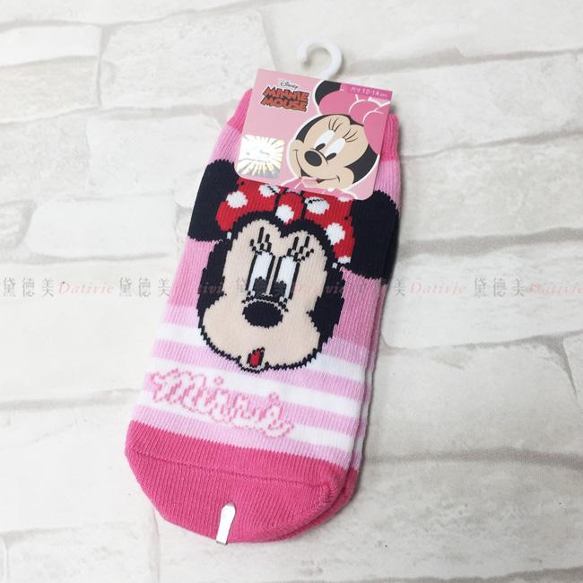 襪子 米尼 迪士尼  兒童襪子 12~14cm 止滑 正版授權