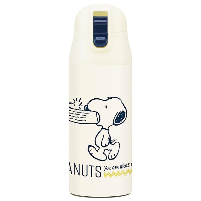 超輕量保溫冷瓶 史努比 360ml 保溫冷瓶 保溫瓶 冷水壺 日本進口正版授權