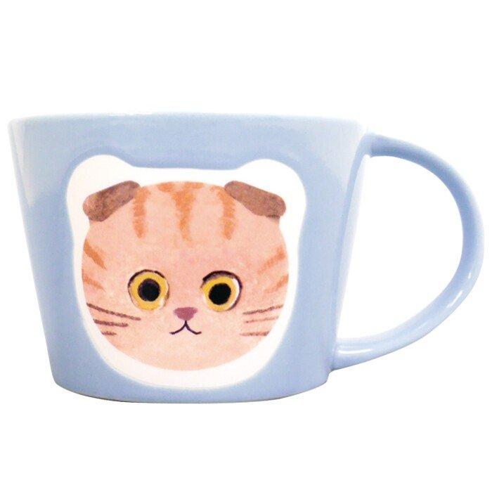 馬克杯 貓咪 280ml 杯子 日本進口正版授權