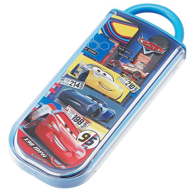 叉匙組 迪士尼 Cars 汽車總動員 叉子 湯匙 餐具組 環保 日本進口正版授權
