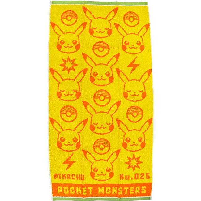 長巾 寶可夢 精靈寶可夢 100%棉 長毛巾 日本進口正版授權