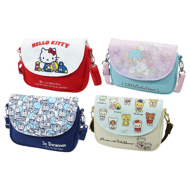 手機觸控側背包 三麗鷗 Kitty kikilala 哆啦A夢 懶懶熊 手機觸控小包包 日本進口正版授權