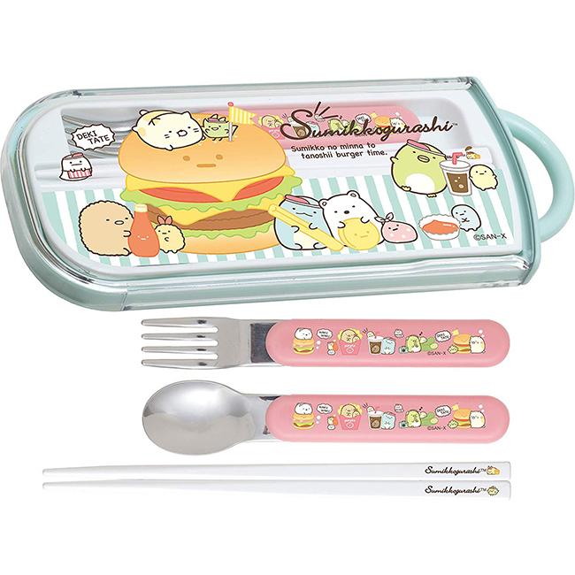 筷叉匙組 日本 SAN-X 角落生物 角落小夥伴 餐具組 日本進口正版授權