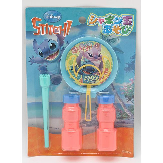 吹泡泡玩具 日本 迪士尼 Disney 史迪奇 吹泡泡組 日本進口正版授權