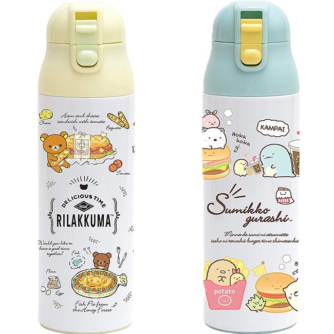 超輕量保溫冷瓶 SAN-X 角落生物 懶懶熊 拉拉熊 500ml 保溫保冷壺 日本進口正版授權
