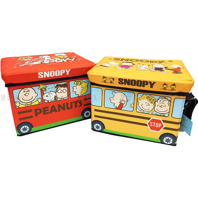 保溫冷收納箱 SNOOPY 史努比 附蓋收納箱 日本進口正版授權