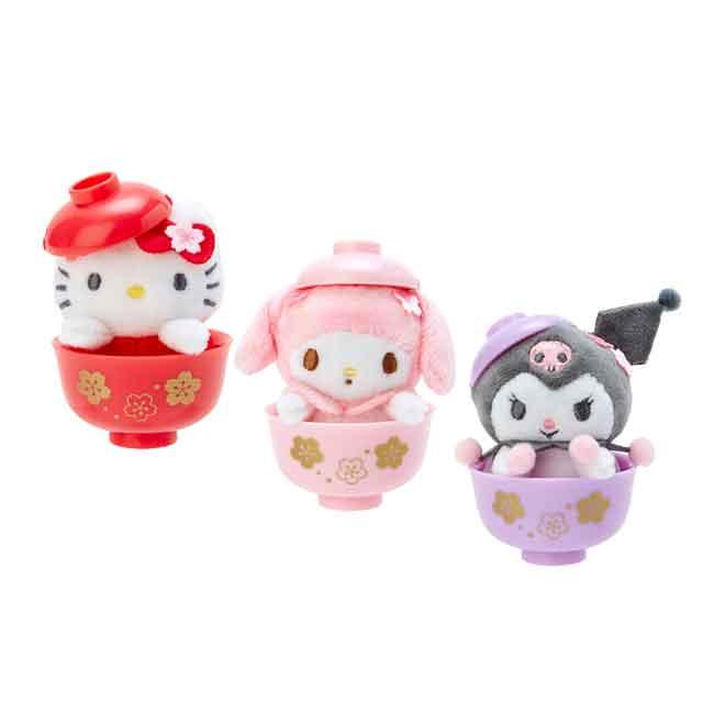三麗鷗 迷你碗中娃娃 玩偶 公仔 三款 日本進口