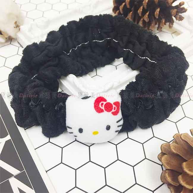 Hello Kitty 洗臉髮帶 日本進口