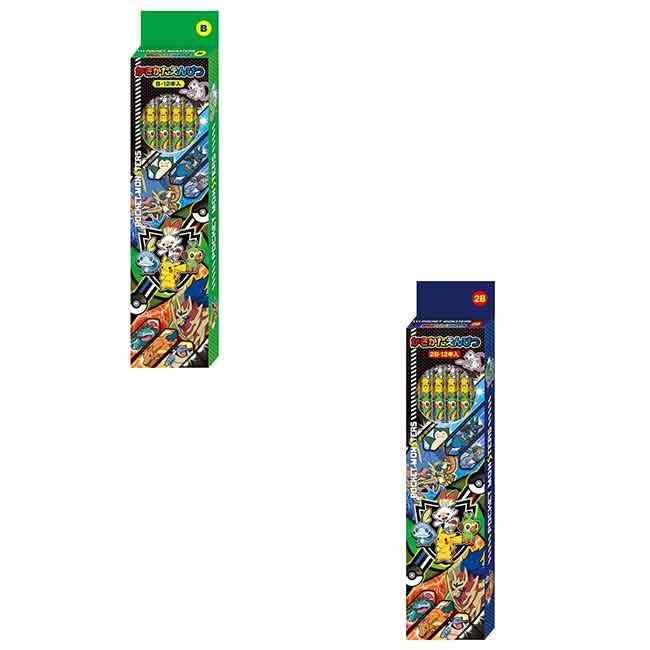 寶可夢 12入鉛筆B 神奇寶貝 日本進口