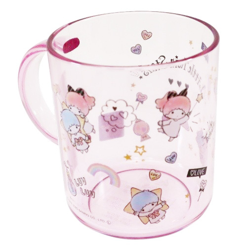 水杯 三麗鷗 雙子星 杯子 漱口杯 日本進口正版授權