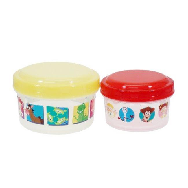 保鮮盒 日本 迪士尼 玩具總動員4 2入 日本進口正版授權