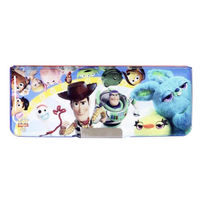 鉛筆盒 迪士尼 玩具總動員4 多功能 機能 兩面 日本進口正版授權