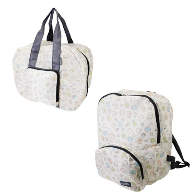 複製-帆布提袋 SAN-X 角落生物 白熊 蜥蜴 貓咪 肩背包 側背包 日本進口正版授權