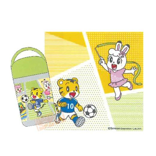小方巾附罐 巧虎 手帕 小毛巾 日本進口正版授權