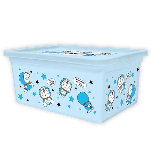 好物收納盒 三麗鷗 哆啦A夢 小叮噹 收納箱 附蓋置物盒 日本進口正版授權