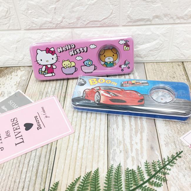 三麗鷗 鉛筆盒 雙層 鐵筆盒 兩款 正版授權