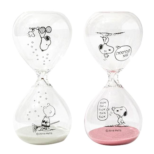 沙漏 史努比 Snoopy 透明 5分鐘 計時沙漏 日本進口正版授權