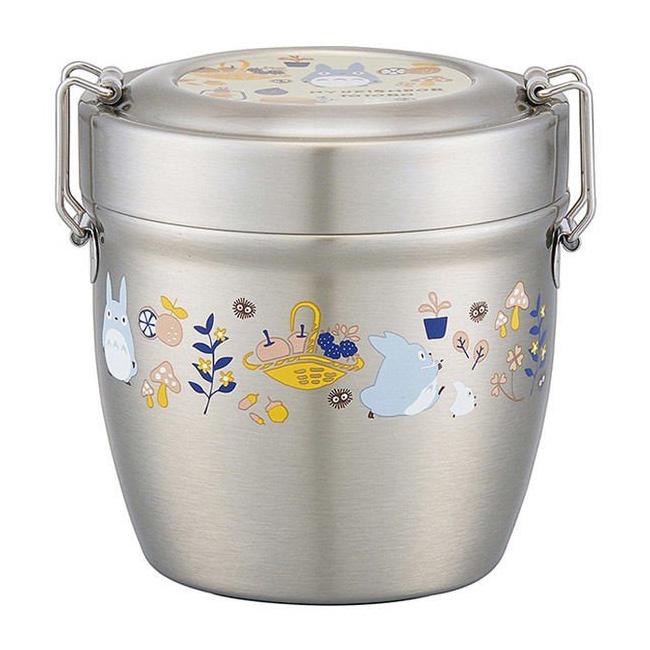 碗型便當盒 宮崎駿 龍貓 TOTORO 570ml 分層便當盒 日本進口正版授權