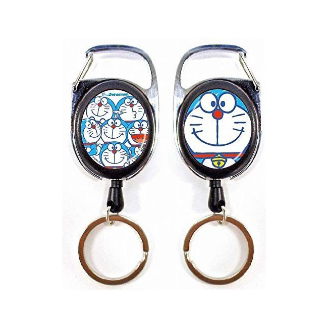 伸縮鑰匙圈 三麗鷗 哆啦A夢 小叮噹 鎖匙圈 日本進口正版授權