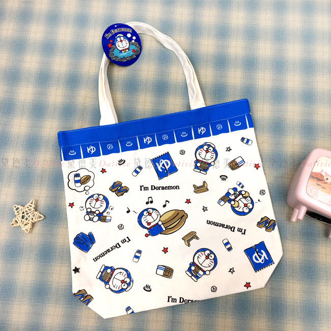 帆布包 三麗鷗 哆啦A夢 小叮噹 提袋 日本進口正版授權