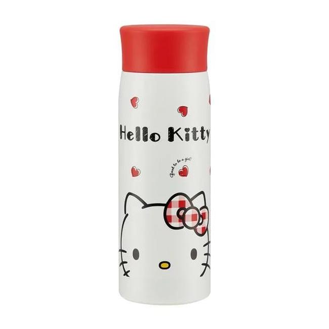 不鏽鋼保溫瓶 三麗鷗 Hello Kitty 凱蒂貓 KT 350ml 輕量保溫保冷瓶 日本進口正版授權