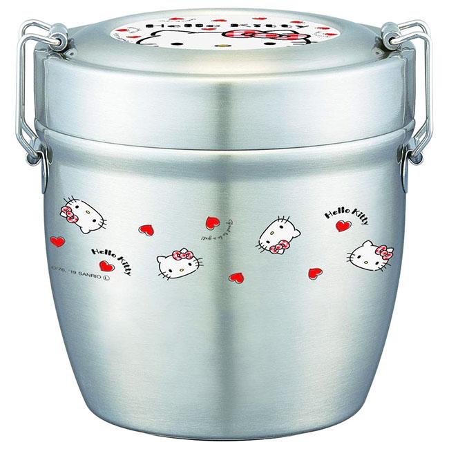 碗型便當盒 三麗鷗 Hello Kitty 凱蒂貓 KT 570ml 輕量便當盒 日本進口正版授權
