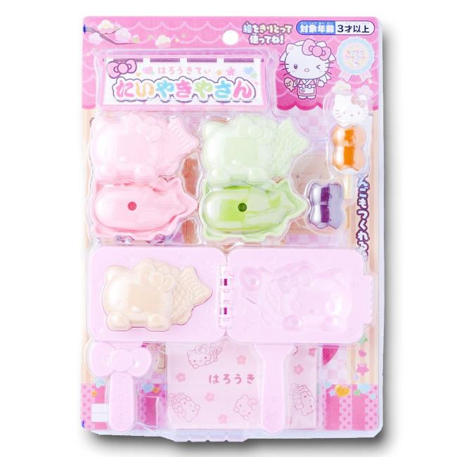 玩具 三麗鷗 Hello Kitty 鯛魚燒 家家酒 兒童 孩童 日本進口正版授權