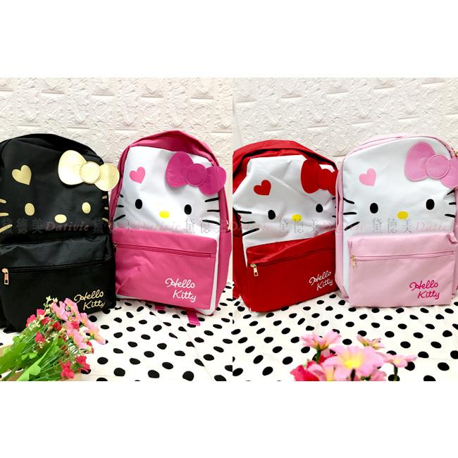 蝴蝶結筆電背包 三麗鷗 Hello Kitty 凱蒂貓 KT 雙肩後背包 正版授權