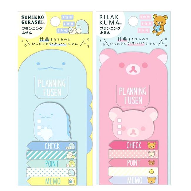 螢光註記貼 日本 SAN-X 角落生物 角落小夥伴 拉拉熊 便籤 日本進口正版授權