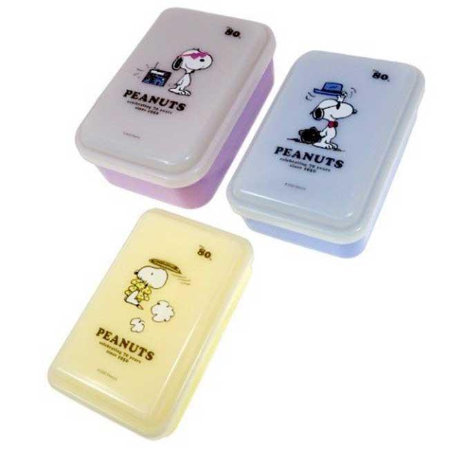 保鮮盒 日本 史努比 SNOOPY 餐具 3入組 70th 便當盒 日本進口正版授權