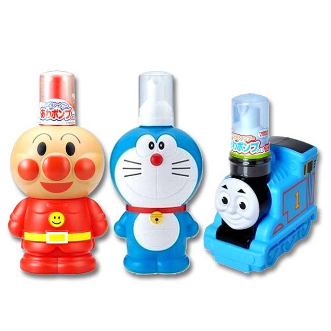 嬰幼兒立體造型洗髮精 日本 BANDAI 哆啦A夢 麵包超人 湯瑪士 盥洗用品 日本進口正版授權