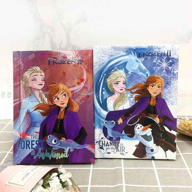 精裝日誌本 迪士尼 冰雪奇緣2 兩款 筆記本 正版授權