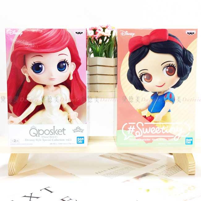 模型 迪士尼 白雪公主 小美人魚 Qposket Sweetiny 造型公仔 日本進口正版授權