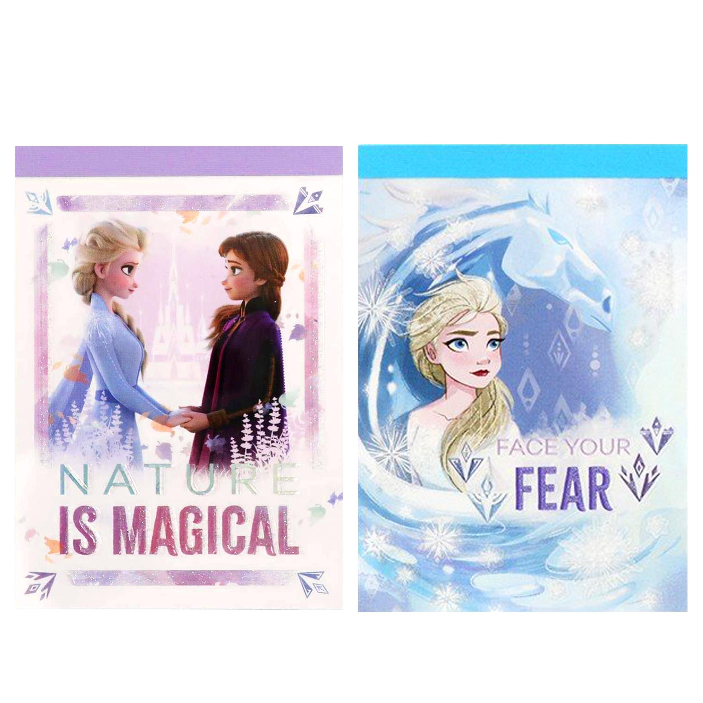 迷你便條本 2款 ELSA 冰雪奇緣2 魔靈的考驗 迪士尼 日本進口