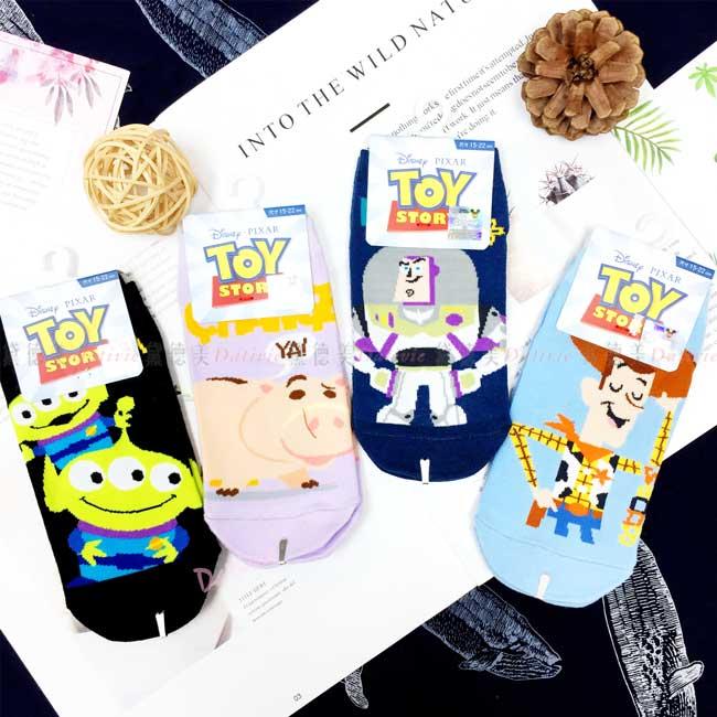 直版襪 迪士尼 皮克斯 玩具總動員15-22cm 卡通兒童襪 正版授權