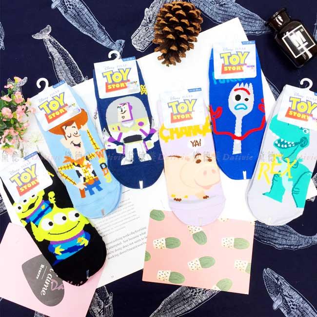 直版襪 迪士尼 PIXAR 玩具總動員 胡迪 巴斯光年 22-26cm 襪子 正版授權