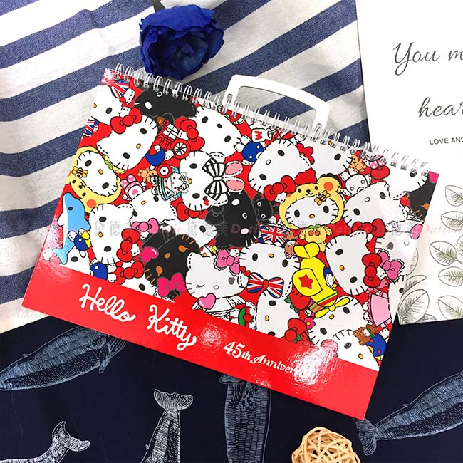 空白畫畫本 三麗鷗 Hello Kitty 角色 寫寫 畫畫 擦擦 正版授權