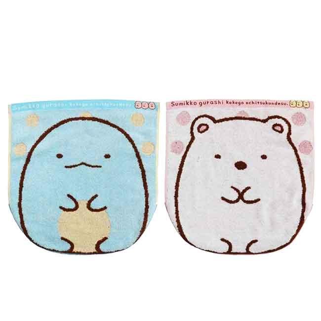 造型小方巾 SAN-X 角落生物 2款 毛巾 日本進口正版授權