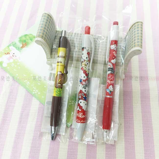 自動鉛筆 三麗鷗 Hello Kitty 凱蒂貓 布丁狗 3款 中油筆 按壓式自動鉛筆 正版授權