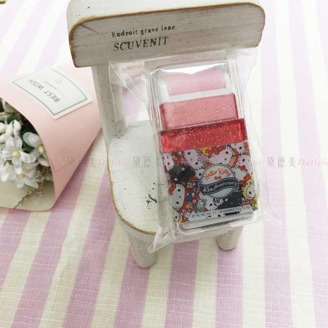 滾輪擦 三麗鷗 Hello Kitty 45th 文具用品 橡皮擦 正版授權