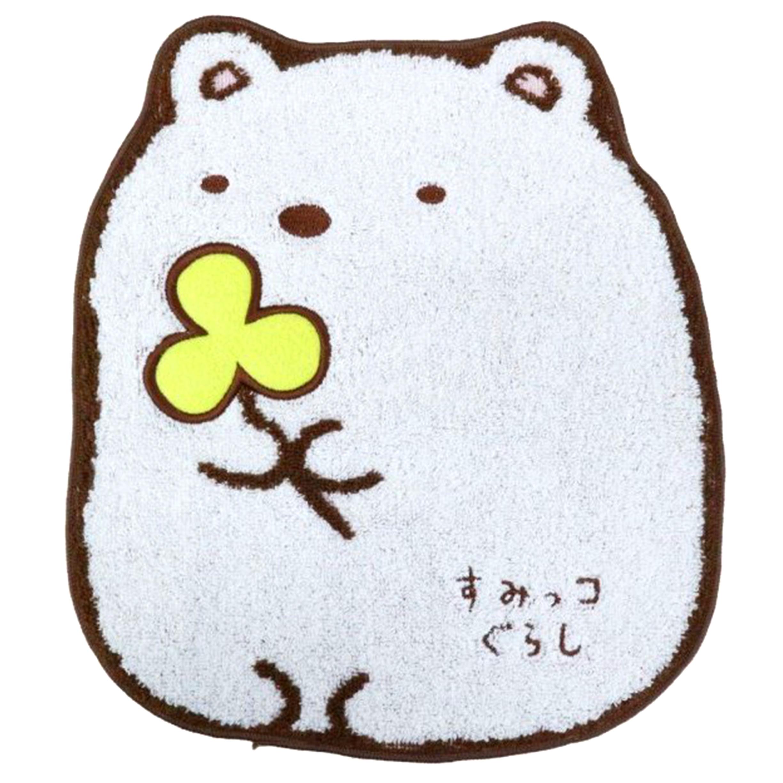 純棉無捻紗小毛巾-白熊 角落生物 san-x 日本進口
