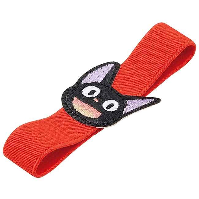 造型刺繡彈力束帶 宮崎駿黑貓 JIJI 魔女の宅急便 束帶 日本進口正版授權