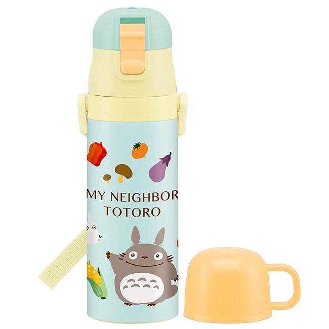 超輕量兩用不鏽鋼保溫瓶 宮崎駿 龍貓 保溫保冷瓶 日本進口正版授權