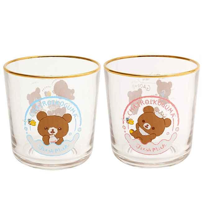 玻璃杯 日本 SAN-X 拉拉熊 懶懶熊 想長大系列 Rilakkuma 杯子 日本進口正版授權