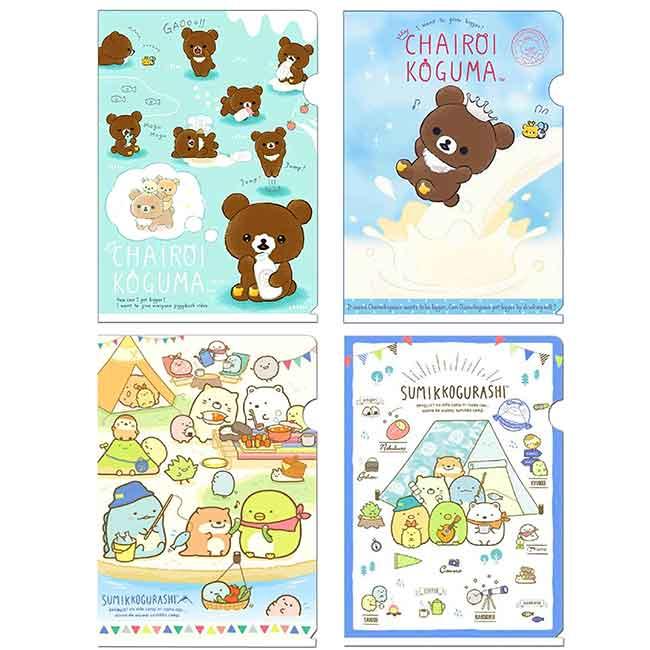 A5文件夾 日本 SAN-X 角落生物 拉拉熊 懶懶熊 想長大系列 資料夾 日本進口正版授權