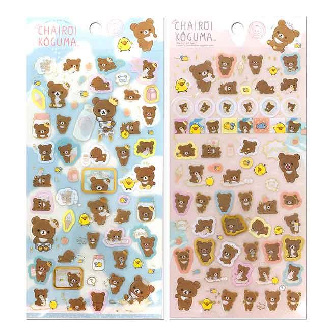 貼紙 日本 SAN-X 懶懶熊 想長大系列 Rilakkuma 造型貼紙 日本進口正版授權