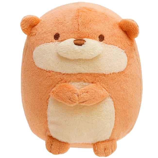 絨毛公仔 SAN-X 角落生物 水獺 露營系列 絨毛娃娃 日本進口正版授權