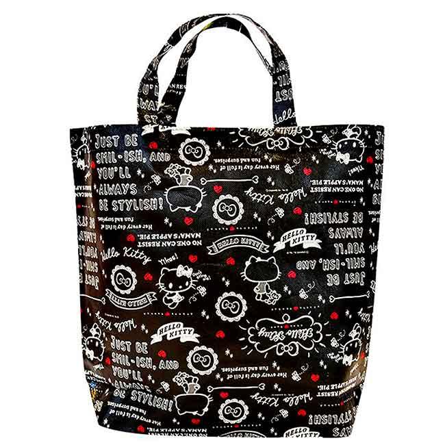 不織布手提購物袋 日本 Hello Kitty 手提袋 日本進口正版授權